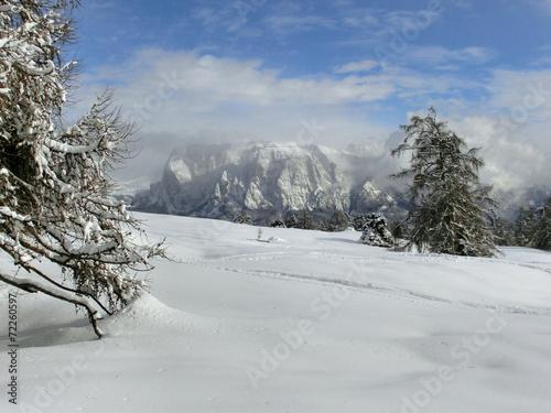 Papiers peints Alpes Ausblick