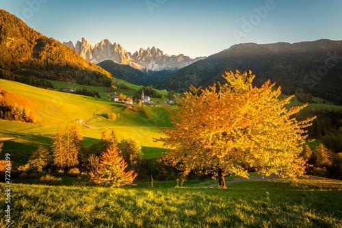 Foto  Autunno sulle Alpi