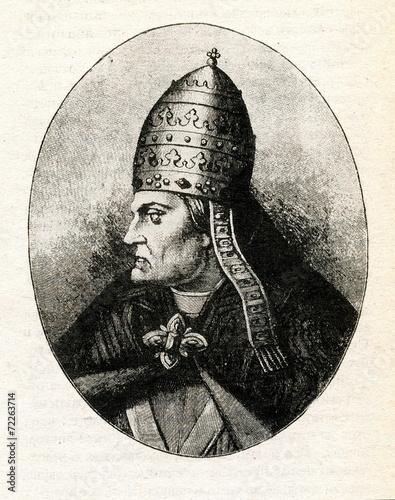 Pope Gregory VII Tapéta, Fotótapéta