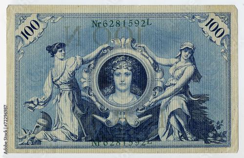 Fotografie, Obraz  reichsbanknote 002