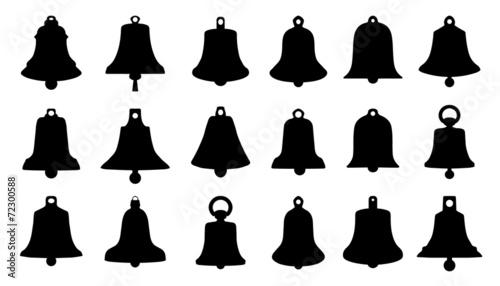bell silhouettes Fototapet