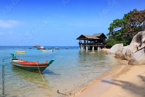 Foto  Koh Tao Island - Strandlandschaft in Thailand