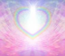 Rainbow Heart Border On Delica...