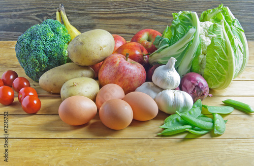 Fotografie, Obraz  Fresh organic food