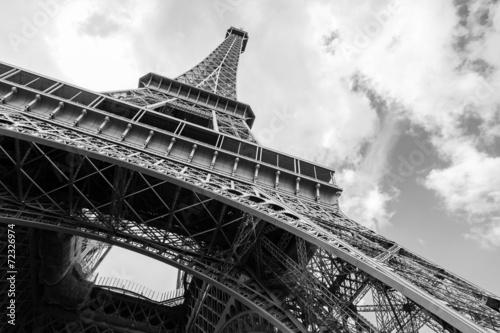 Deurstickers Eiffeltoren Eiffel Tower, the most popular landmark of Paris
