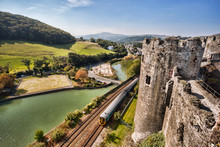 Conwy Castle In Wales, United ...