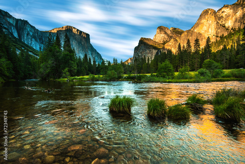 Valley View Yosemite Poster