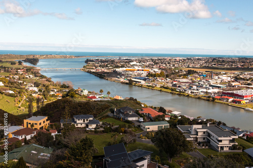 Foto auf Leinwand Neuseeland Whanganui lookout from tower
