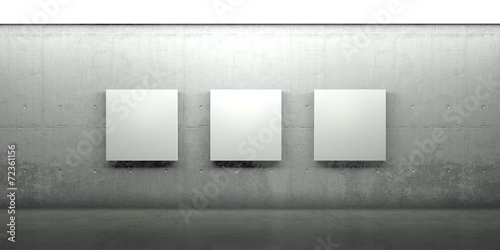 Fototapeta Galerie, Gemälde, Architektur