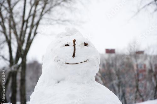 Photographie snowman