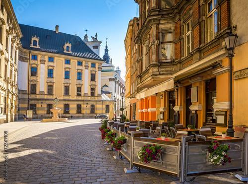 Obraz Wrocław - zabytkowe centrum Polski - fototapety do salonu