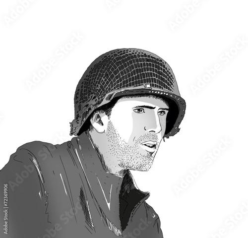 Poster  Soldat US