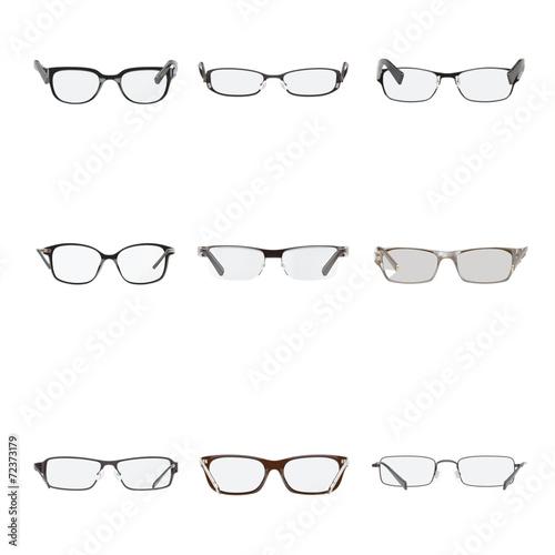 Set of a glasses Canvas Print