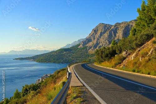 Kuestenstrasse Kroatien - wybrzeże drogi Chorwacja 04