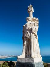Statue Of Juan Cabrillo At Cabrillo National Monument