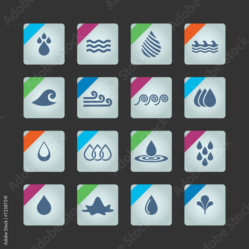 Stampe  water icons