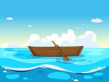 Boat And Ocean