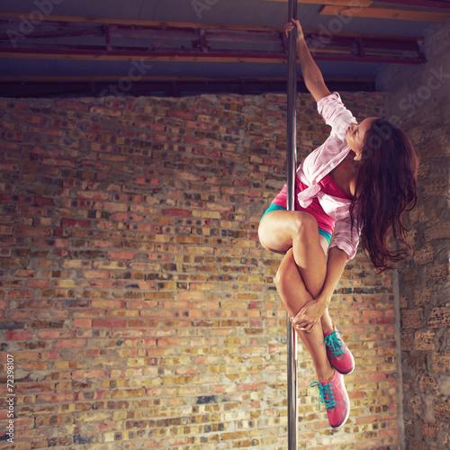 Fotografie, Obraz  Pole dancer