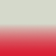 An Abstract Halftone Retro Red Pattern