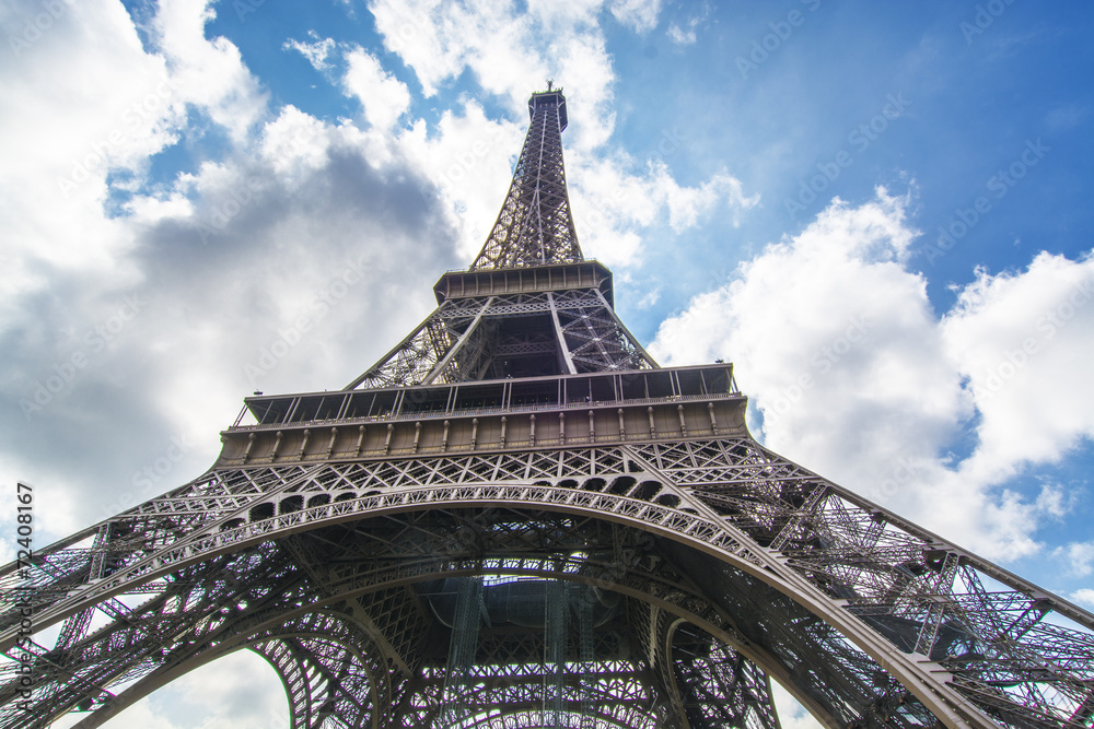 Fototapeta The tower, Paris - obraz na płótnie