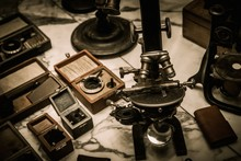 Vintage Optical Devices In A S...