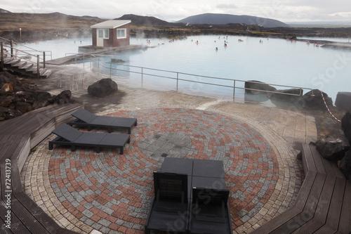 Fotografia, Obraz  Icelandic spa (Myvatn Nature Baths)