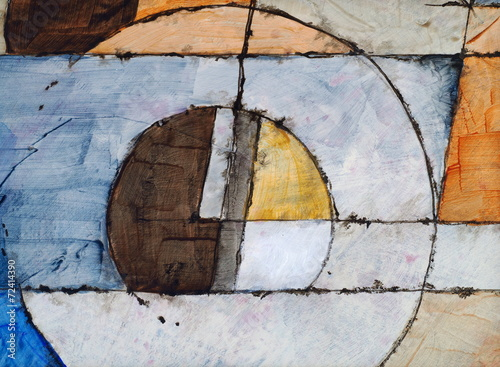 Obraz an abstract painting - fototapety do salonu