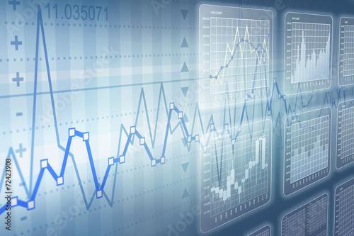 Fotografie, Obraz  Types of Charts