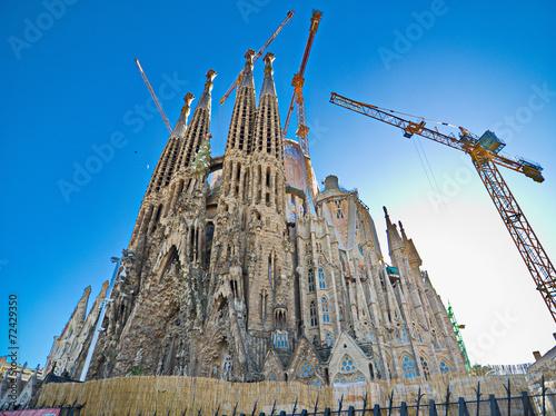 Papiers peints Barcelona The Basilica de la Sagrada Familia, Barcelona