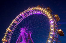 Ferris Wheel - Wiener Riesenrad In Prater, Vienna