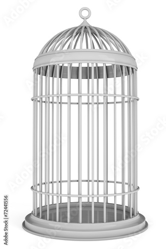 Fotografie, Obraz  Simple Bird Cage