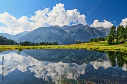 Fotografie, Obraz  Trentino - Covel Lake in Val di Pejo