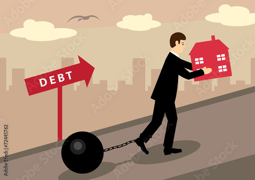 Fotografía  House Debt