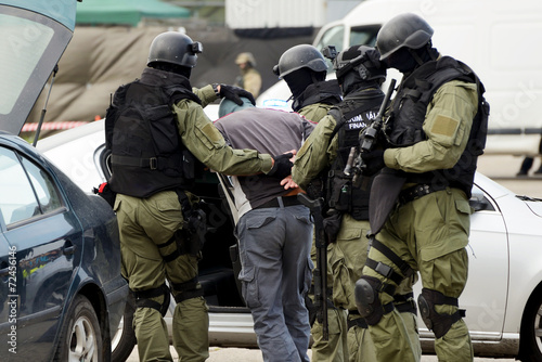 Fotomural Aresztowanie