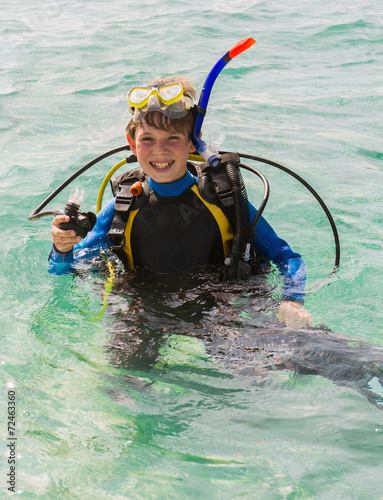 plakat Junior Scuba Diver
