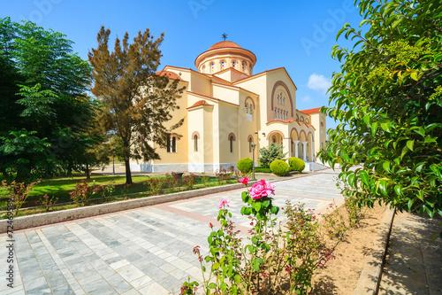 Foto Famous monastery Agios Gerasimos on Kefalonia island, Greece