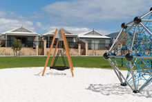 Australian Suburb With New Playground