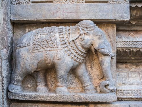 Fotografie, Obraz  Stone Elephant