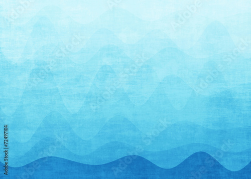 Canvas Prints Abstract wave Abstract blue wave background