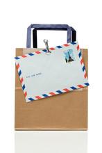 封筒と紙袋
