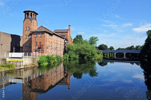 Canvas Print The old Silk Mill, Derby © Arena Photo UK