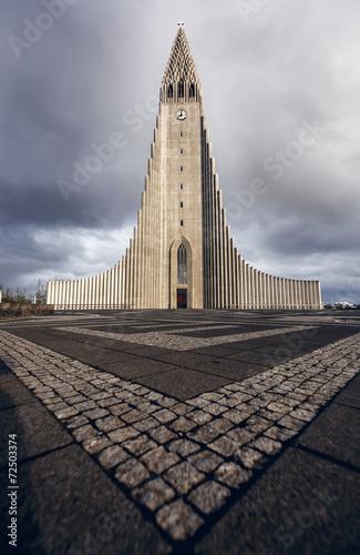 Valokuva  Hallgr'mskirkja, Hallgrimskirkja main church