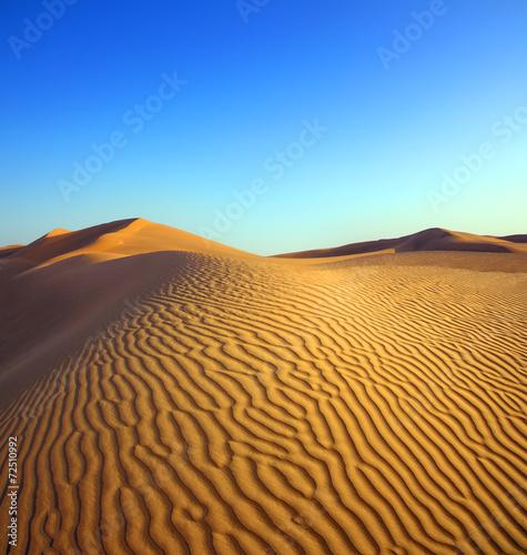 evening desert landscape - 72510992