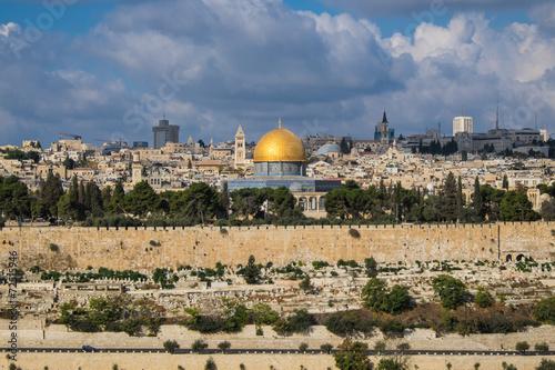 Fotobehang Midden Oosten Jerusalem landscape