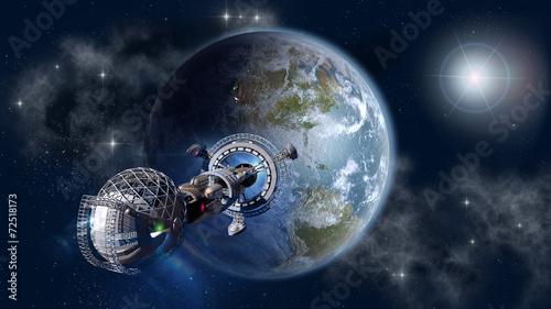 miedzygwiezdny-statek-kosmiczny-opuszczajacy-planete-ziemie