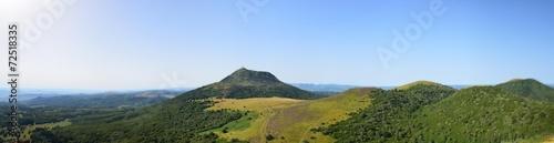 Puy de Dôme vu panoramique