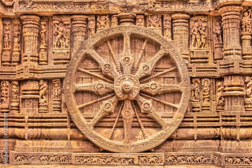 Fotografie, Tablou Sandstone Wheel - HDR