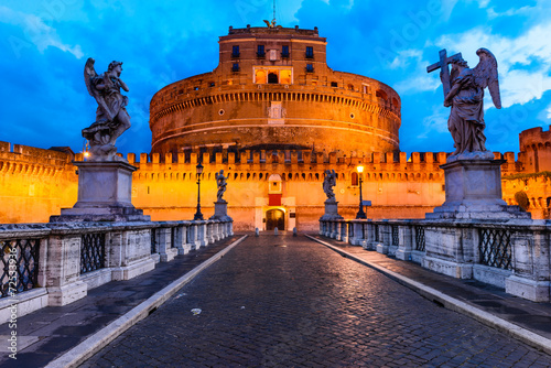 Poster Rome Castel Sant Angelo, Rome