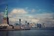 La liberté veille sur Manhattan