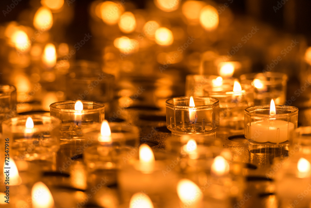 Fototapeta candles